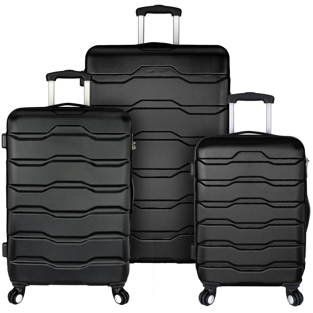 Elite Luggage Omni 3-Piece Hardside Spinner Luggage Set, Black was $349.99 now $174.99 (50.0% off)