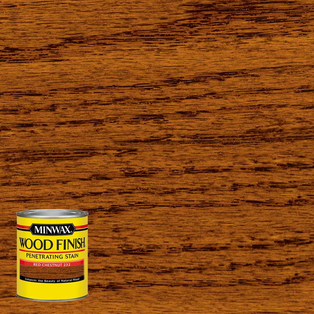 Minwax 8 oz. Wood Finish Red Chestnut Oil Based Interior Stain