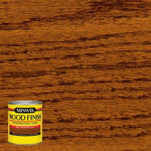 8 oz. Wood Finish Red Chestnut Oil Based Interior Stain