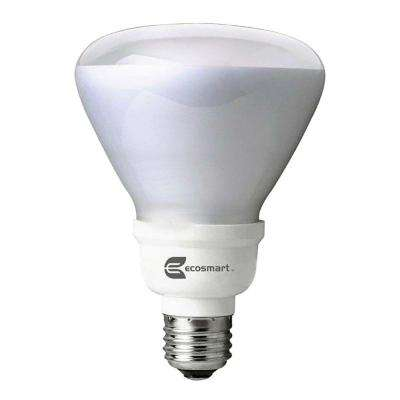 65W Equivalent Soft White BR30 Dimmable CFL Light Bulb (2-Pack)