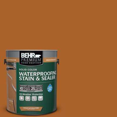 1 gal. Cedar Naturaltone Solid Color Waterproofing Stain & Sealer