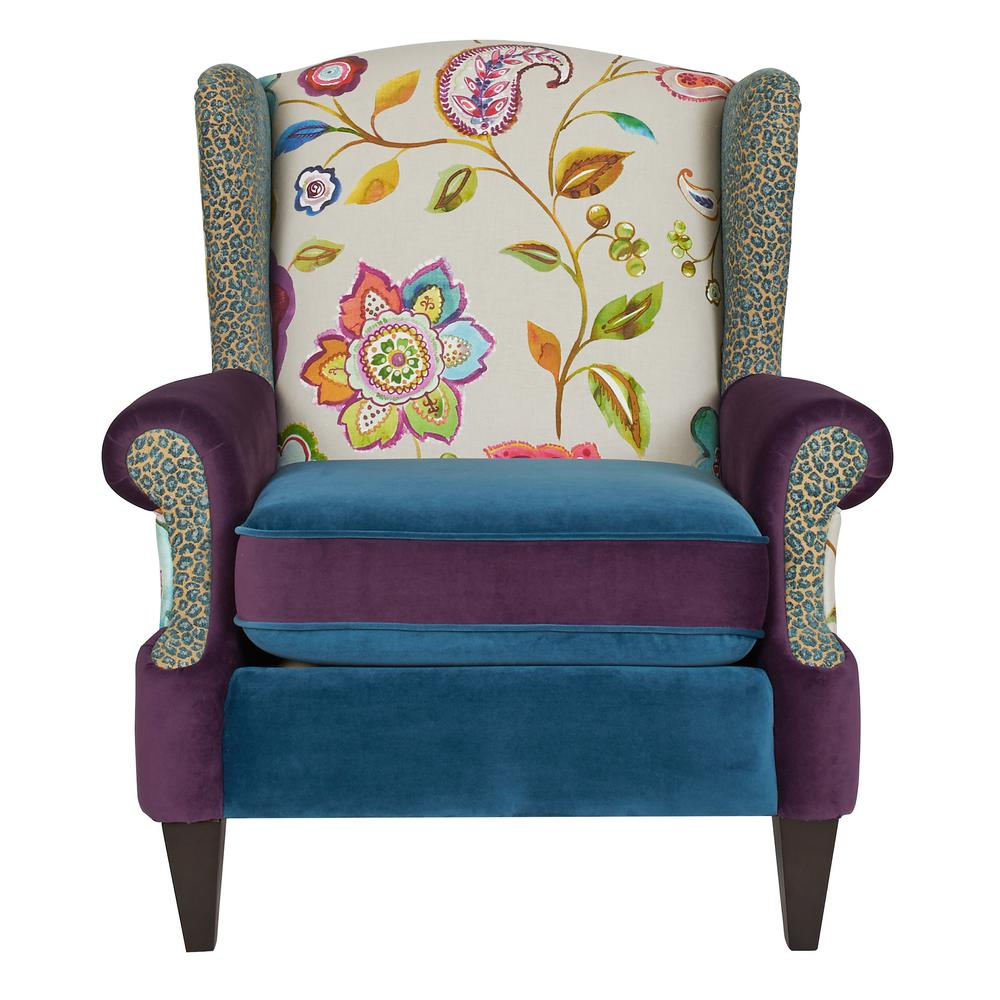 Anya Multicolored Arm Chair