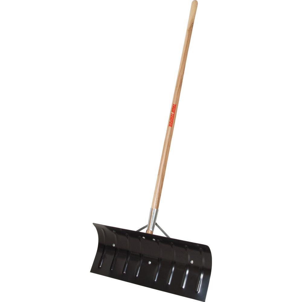 True Temper 24 in. Steel Snow Shovel-DISCONTINUED