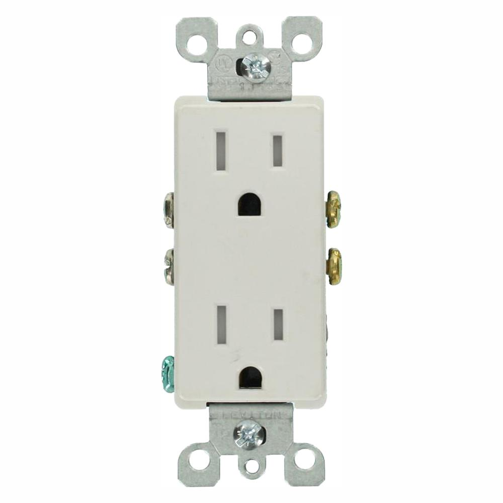 Electrical Outlets & Receptacles - Wiring Devices & Light Controls - The  Home DepotElectrical Outlets & Receptacles - Wiring Devices & Light Controls - The  Home Depot