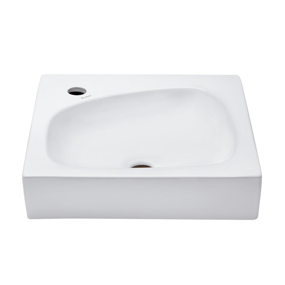 Pegasus diana vessel sink in white 4 463wh the home depot for Are vessel sinks still in style 2016