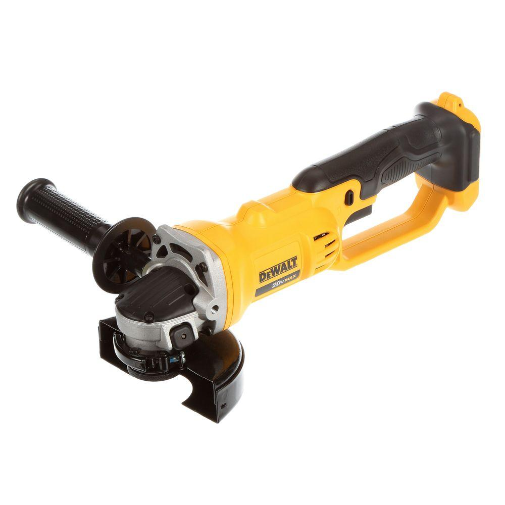 20-Volt Max Lithium-Ion 4-1/2 in. Cordless Grinder (Tool-Only)