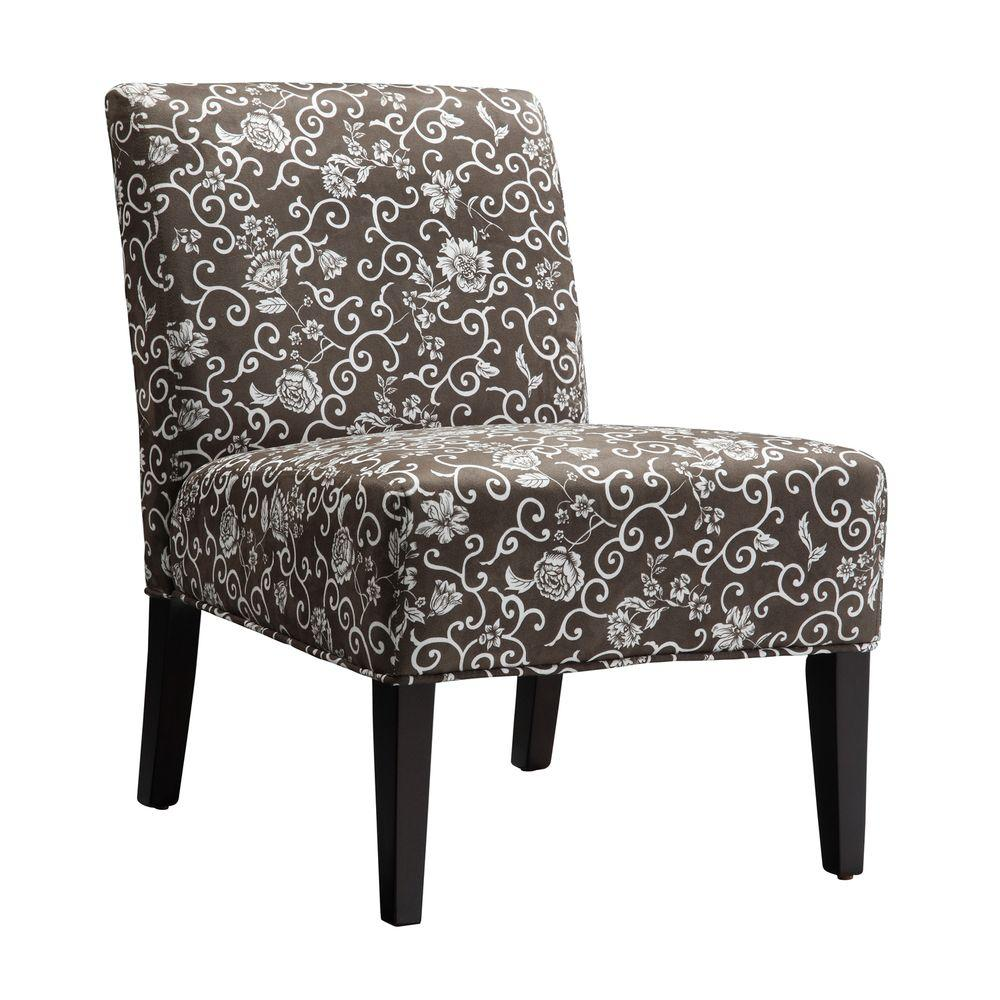 Home Decorators Collection Floral Print Lounge Chair-DISCONTINUED