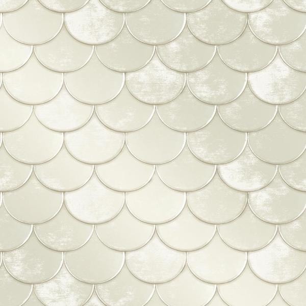 Tempaper Genevieve Gorder Brass Belly Pearl Self-Adhesive, Removable Wallpaper BR481