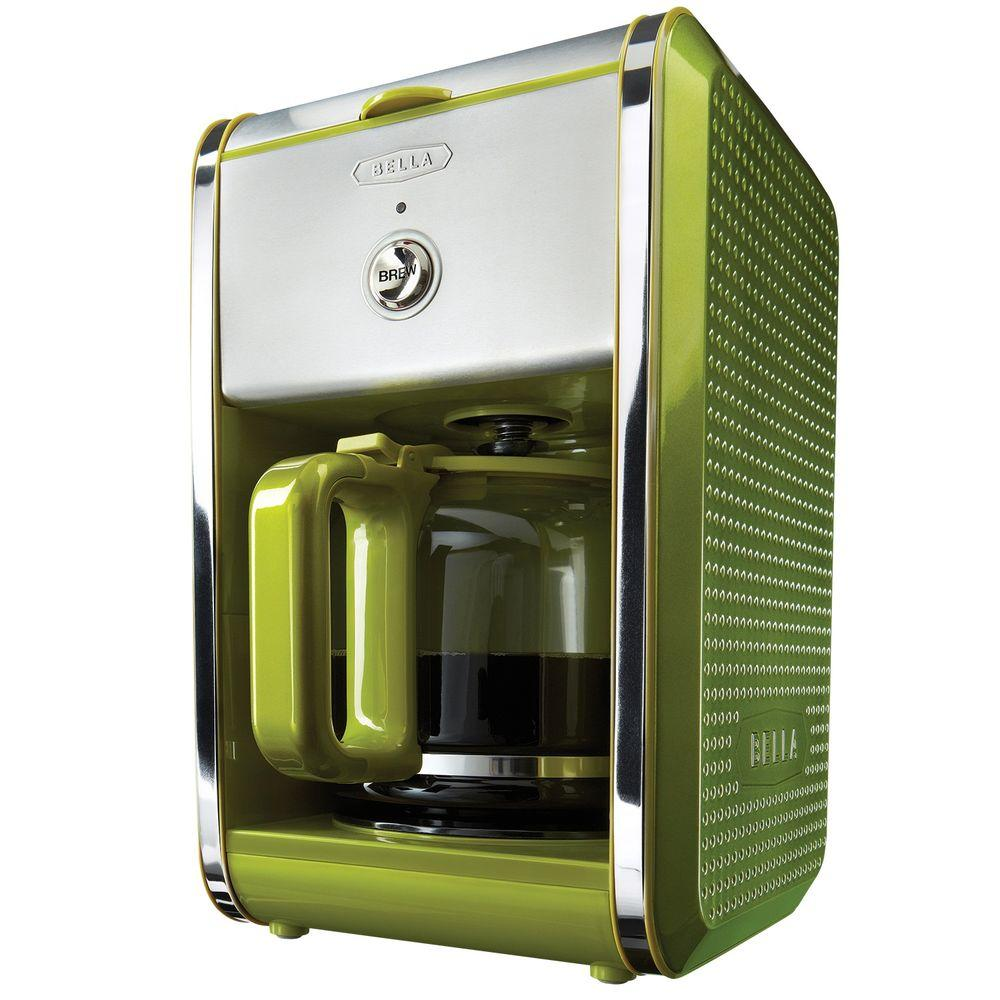 Bella Dots Switch Coffee Maker in Lime