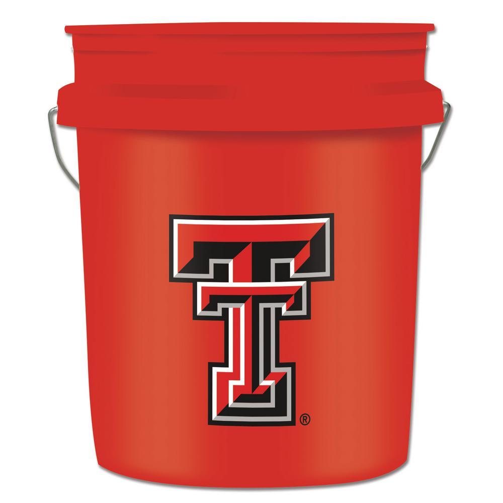 5 gal. Texas Tech Red Bucket