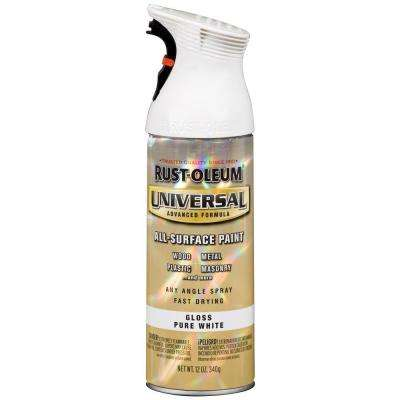 12 oz. All Surface Gloss White Spray Paint and Primer in One (6-Pack)