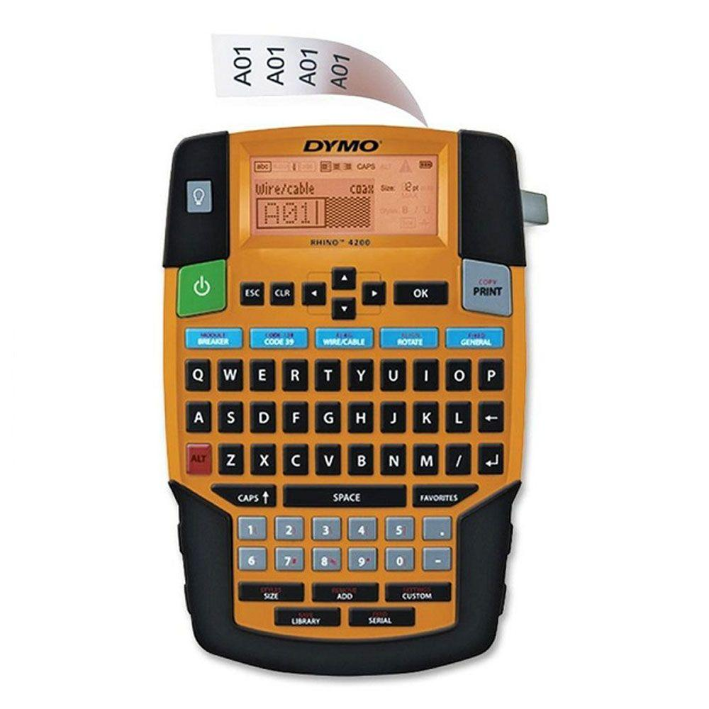 Dymo Rhino 4200 Labeler With QWERTY Keyboard-DISCONTINUED
