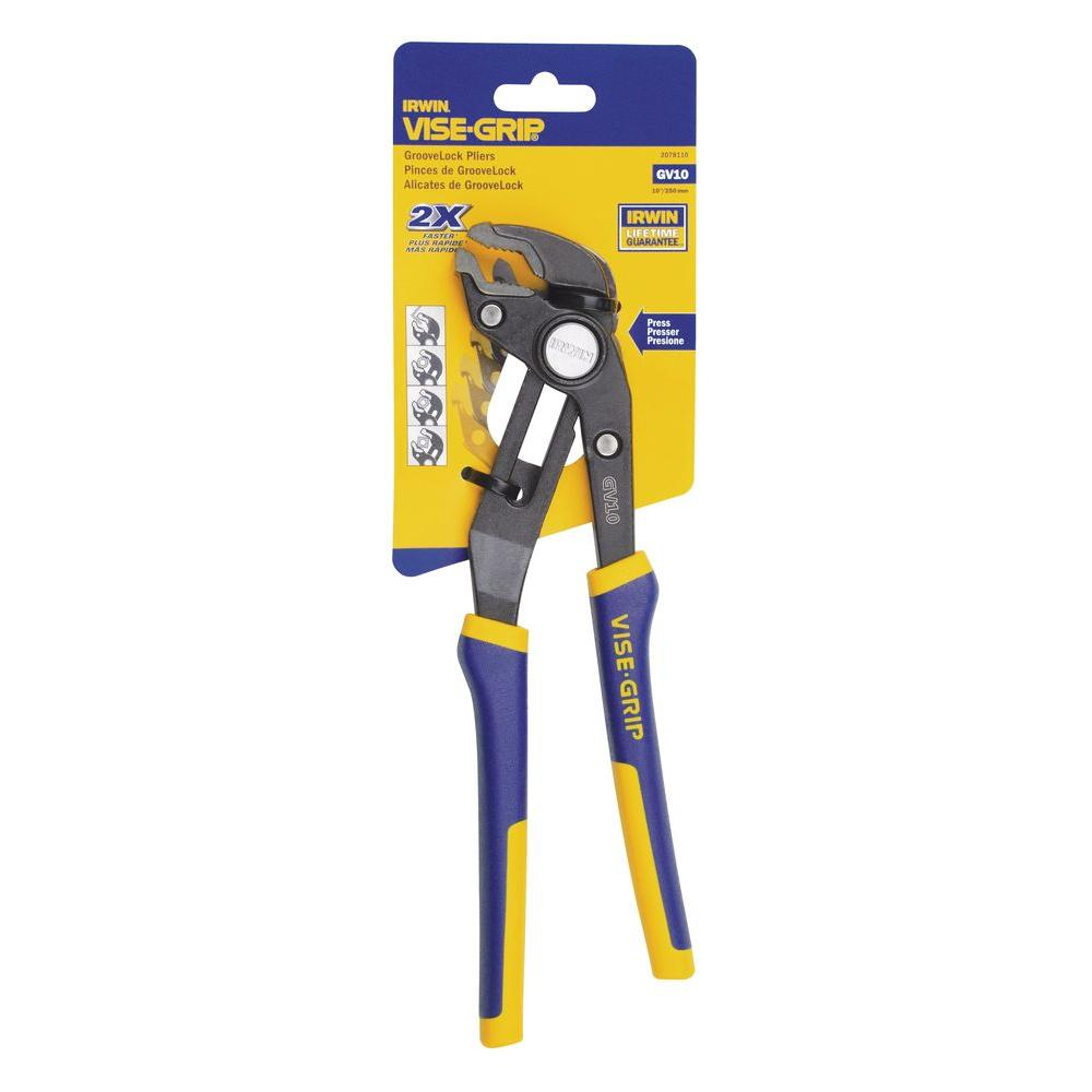 Irwin Vise-Grip 10 in. Quick Adjusting Groovelock Pliers