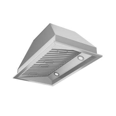 Chef Insert 28 in. Range Hood with LED in Stainless Steel