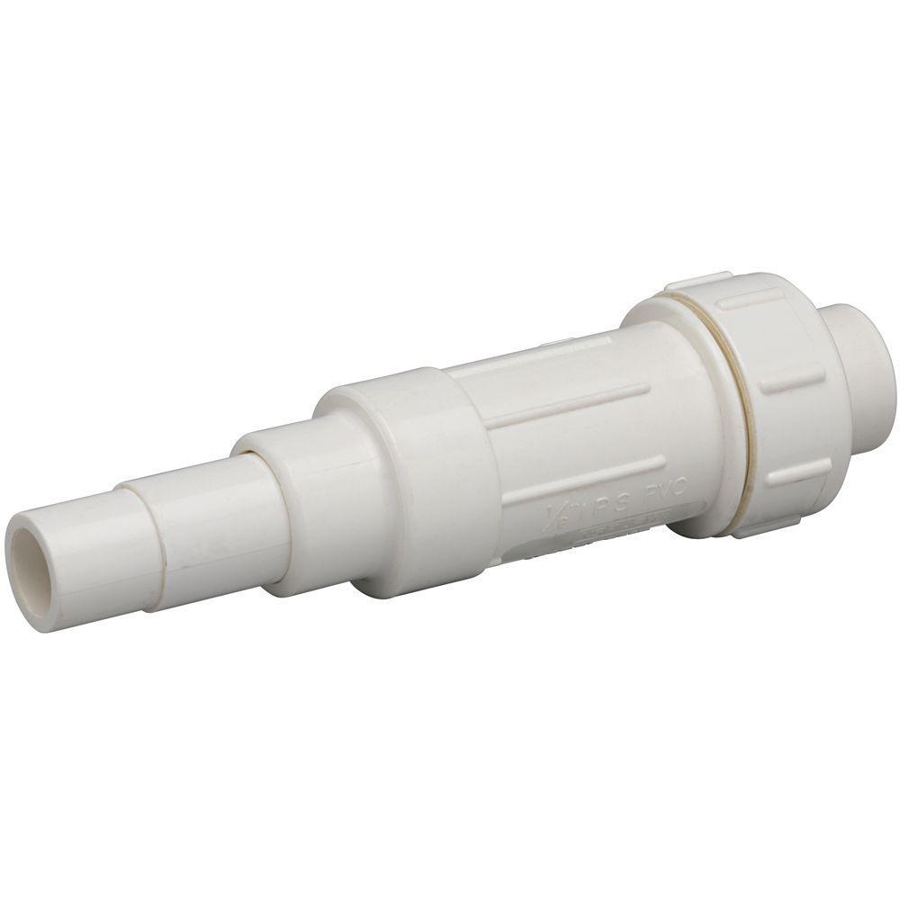 1/2 in. PVC Slide Repair Coupling