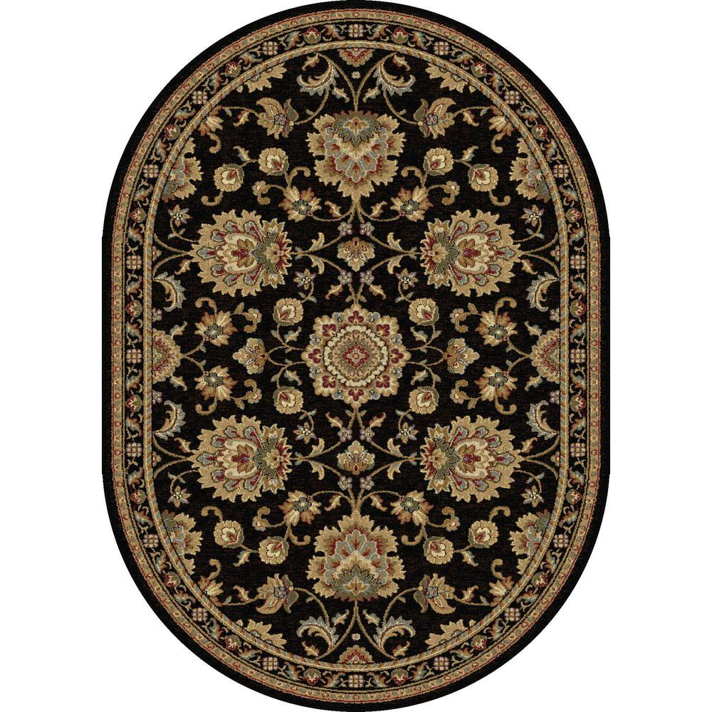 Tayse Rugs Sensation Red 5 Ft 3 In X 7 Ft 3 In
