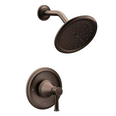 Belfield 1-Handle Posi-Temp Shower Only Trim Kit in Oil Rubbed Bronze (Valve Not Included)