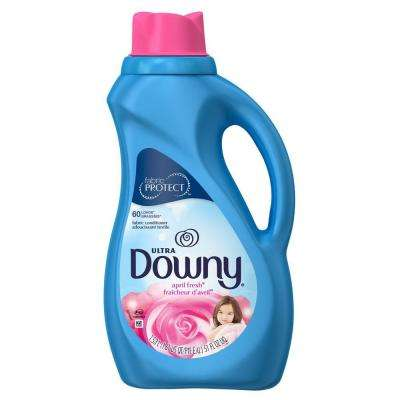 Ultra 51 oz. April Fresh Liquid Fabric Softener (60-Loads)
