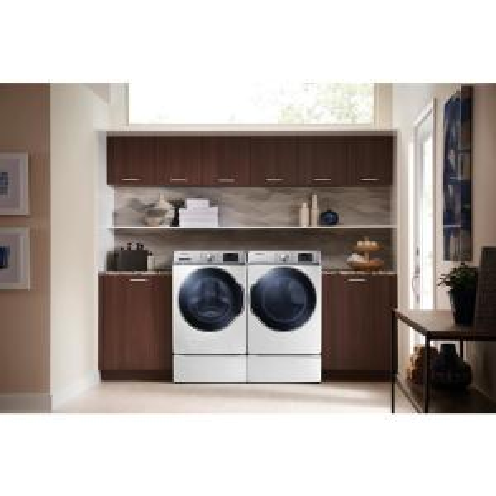 white samsung electric dryers dv42h5000ew e1_300 samsung 7 5 cu ft electric dryer in white dv42h5000ew the home  at reclaimingppi.co