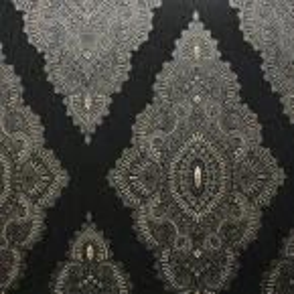Jewel Black Removable Wallpaper Sample