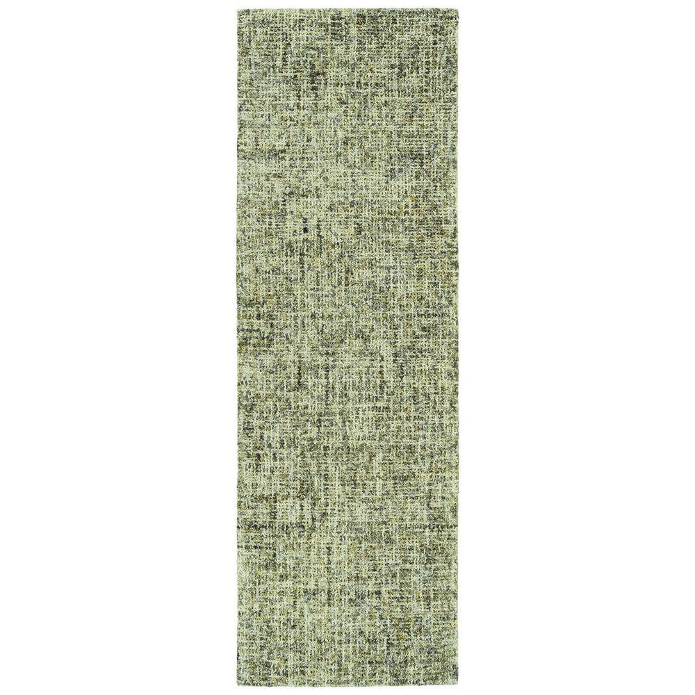 Kaleen Lucero Green 2 ft. 6 in. x 8 ft. Runner Rug