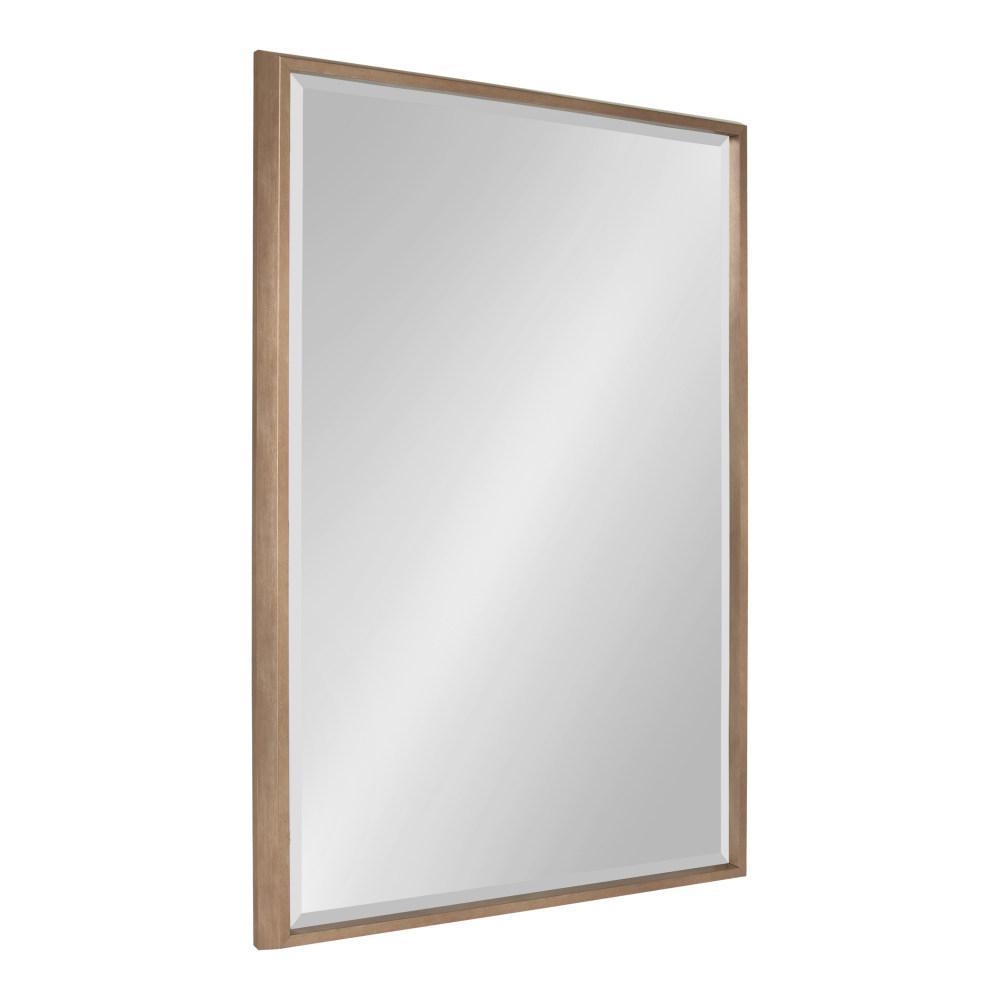 Blake Rectangle Gold Wall Mirror