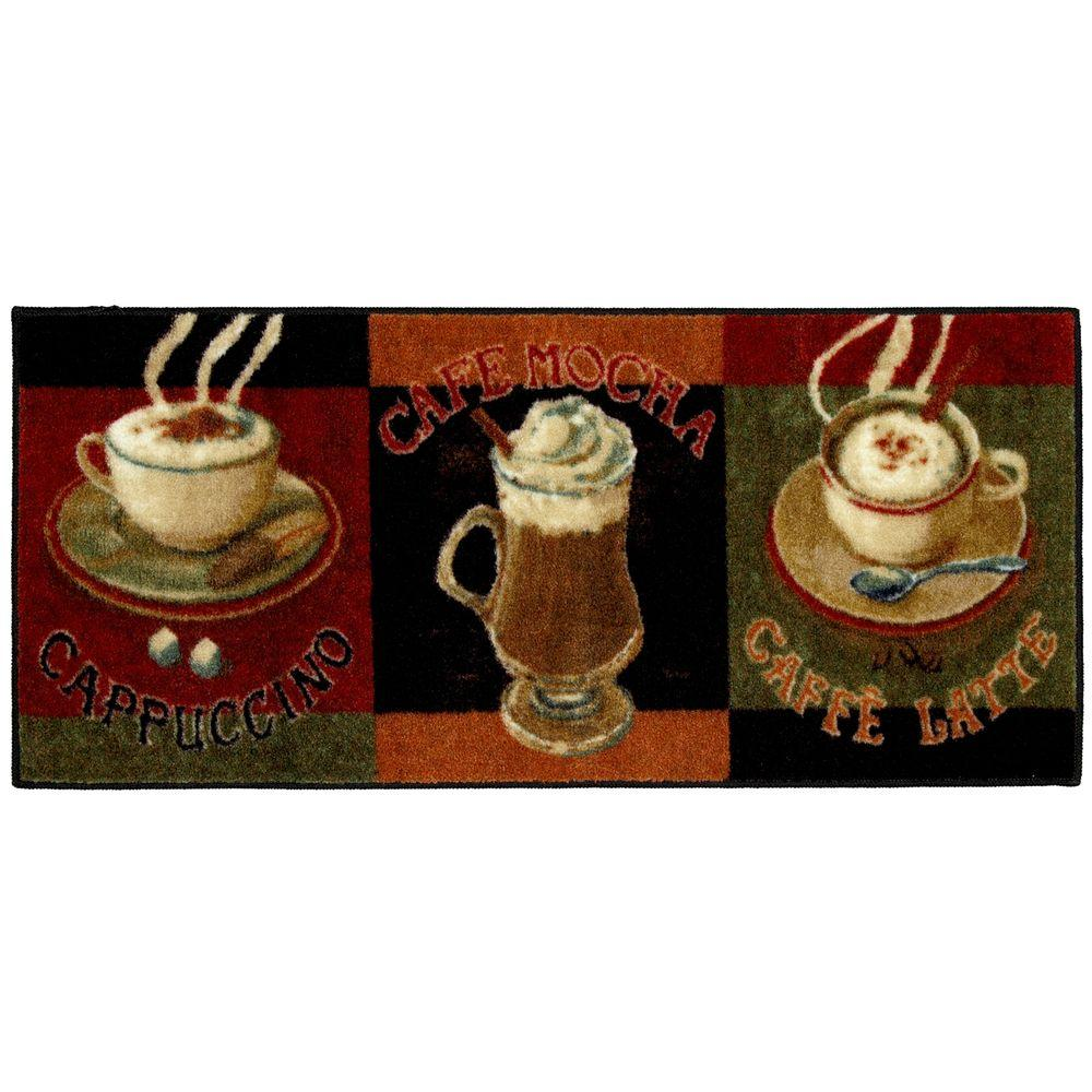 Mohawk Home Caffe Latte Primary 20 In X 45 In Accent Kitchen Rug