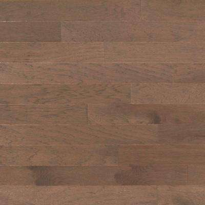 Brushed Vintage Hickory Stone 3/8 in. x 4-3/4 in. x Random Length Engineered Click Hardwood Flooring (33 sq. ft. / case)