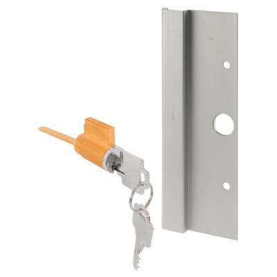 Aluminum Sliding Door Outside Pull with Door Lock and Key