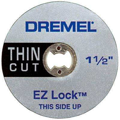 EZ Lock 1-1/2 in. Thin Metal Cut Off Rotary Wheel (5-Pack)