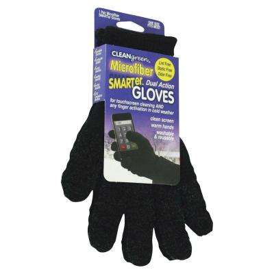 Caster Dual Action Microfiber Gloves (1-Pair)