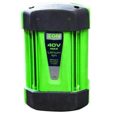 40-Volt Max Additional Lithium Battery