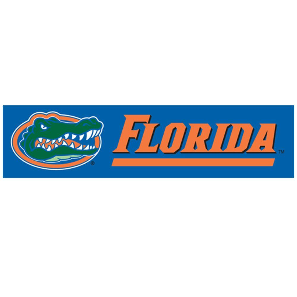 Party Animal 8 ft. x 2 ft. NCAA License Florida Team Banner-DISCONTINUED