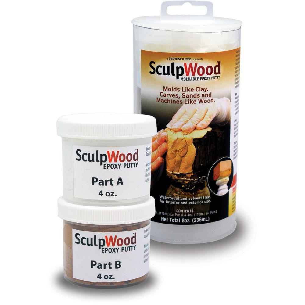 Two Part Epoxy Putty Kit With 4 Oz