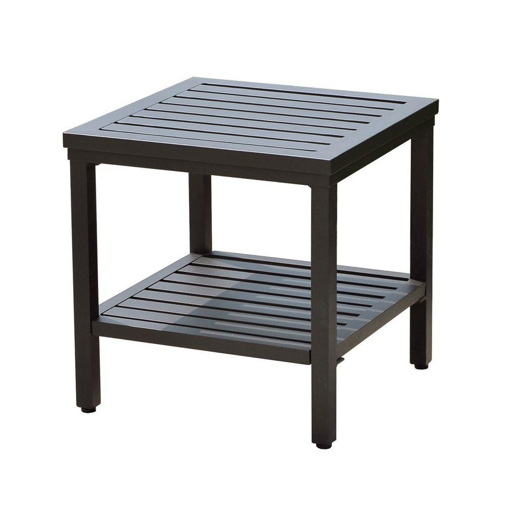 Sunjoy Pine Ridge Patio Side Table