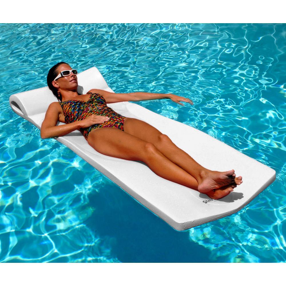 Sunsation White Pool Float