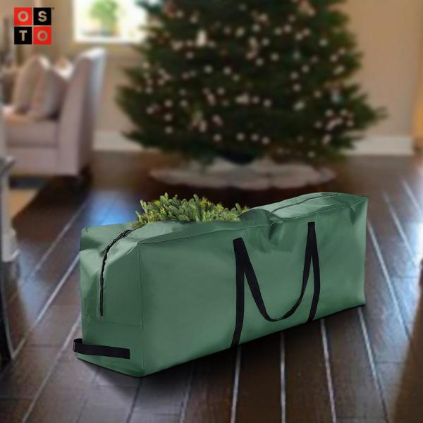 Christmas Tree Storage Bag Deluxe Heavy Duty Holiday Up to 9Ft Trees W// Handles