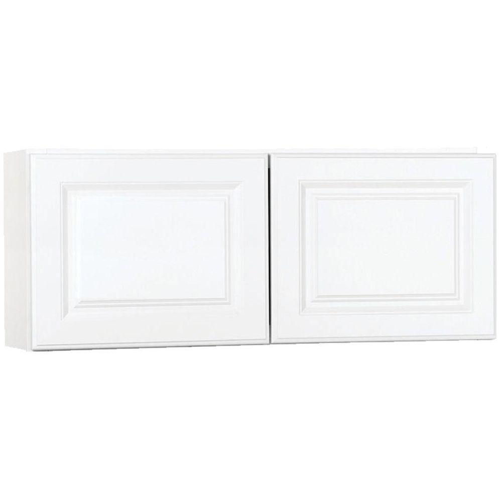 Wall Bridge Kitchen Cabinet In Satin White