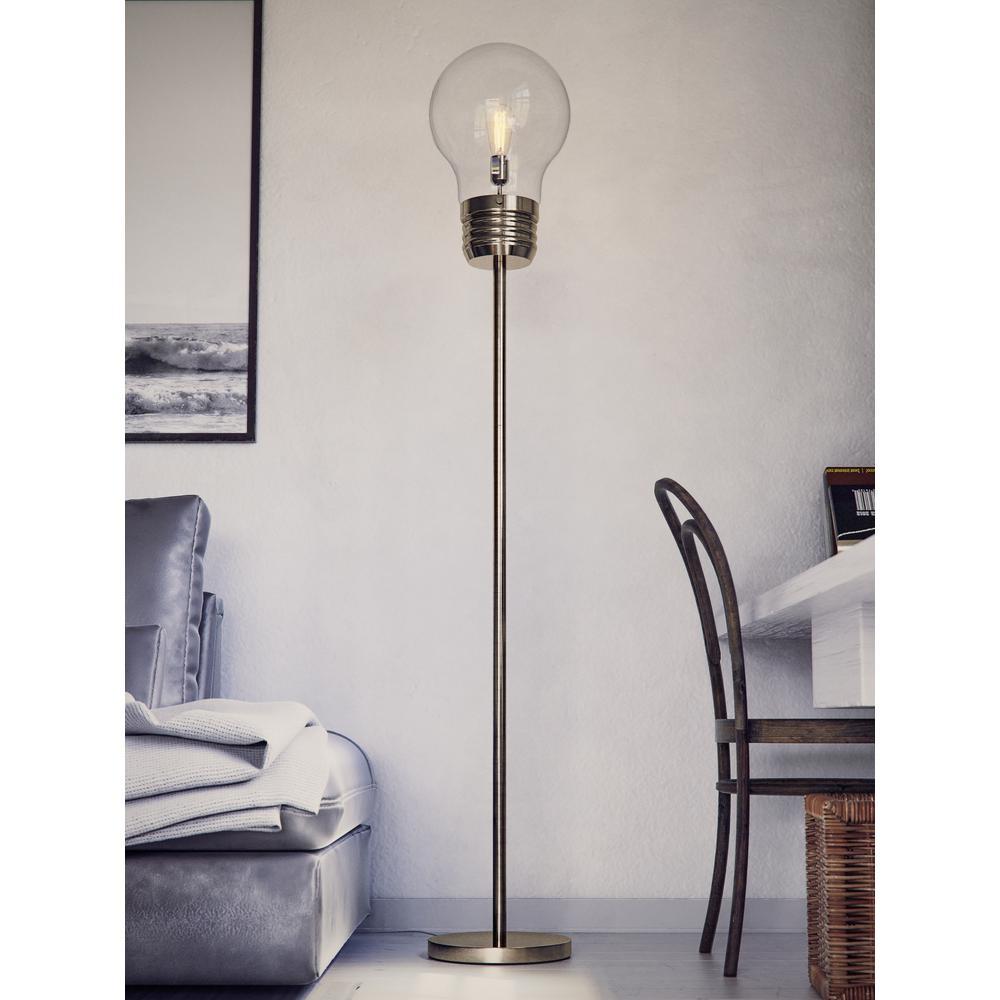 Antique Br Floor Lamp 32463ab
