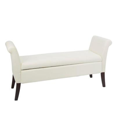 White - Bedroom Benches - Bedroom Furniture - The Home Depot