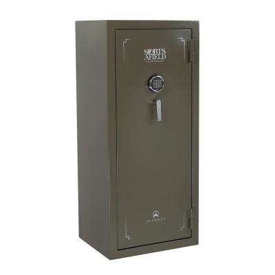 Journey Series 30-Gun E-Lock Gun Safe, OD Green Texture