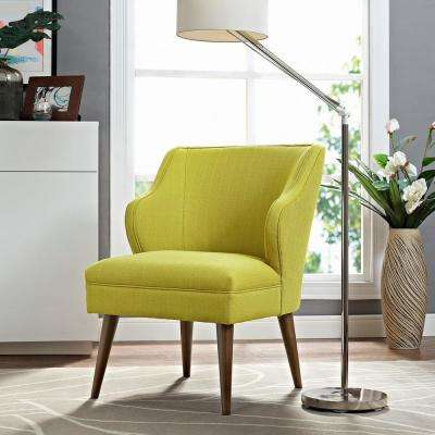 Swell Wheatgrass Upholstered Fabric Armchair