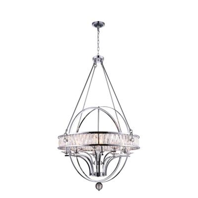 Arkansas 12-Light Chrome Chandelier