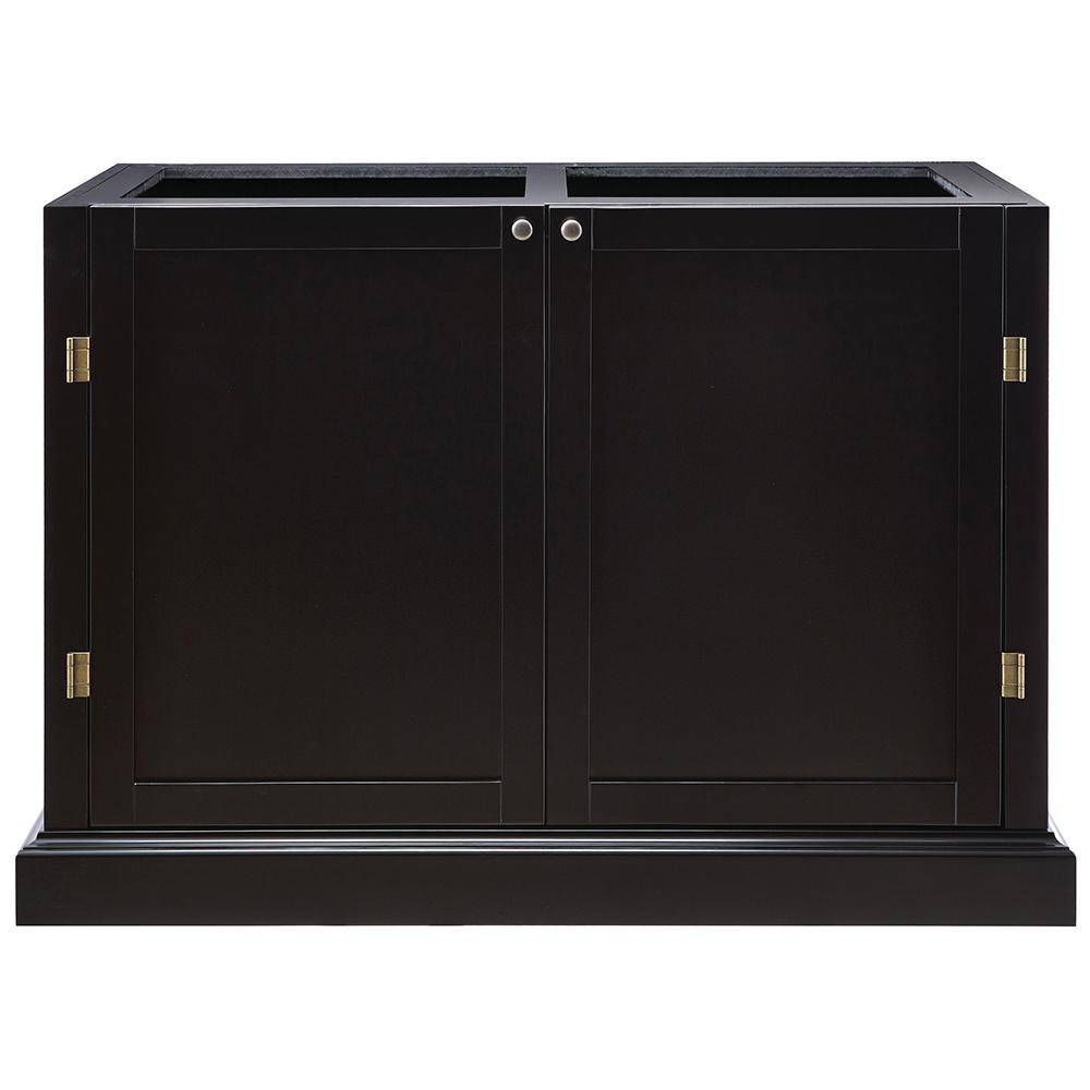 Prescott Black Modular Six Shelf Pantry Base