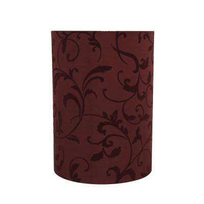 Red Drum Cylinder Lamp Shade