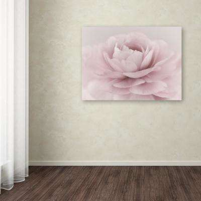 """35 in. x 47 in. """"Stylisch Rose Pink"""" by Cora Niele Printed Canvas Wall Art"""