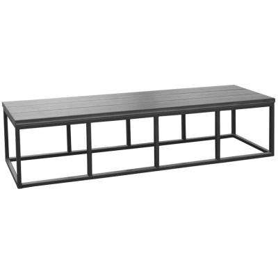 16.5 in. x 77 in. x 18 in. Spa Bench in Mist