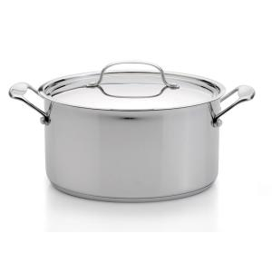 Click here to buy BergHOFF EarthChef Premium 8.2 Qt. 18/10 Stainless Steel Covered Stockpot with Lid by BergHOFF.