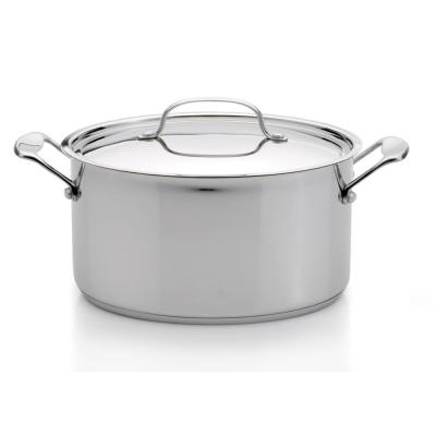 EarthChef Premium 8 qt. Stainless Steel Stock Pot with Lid