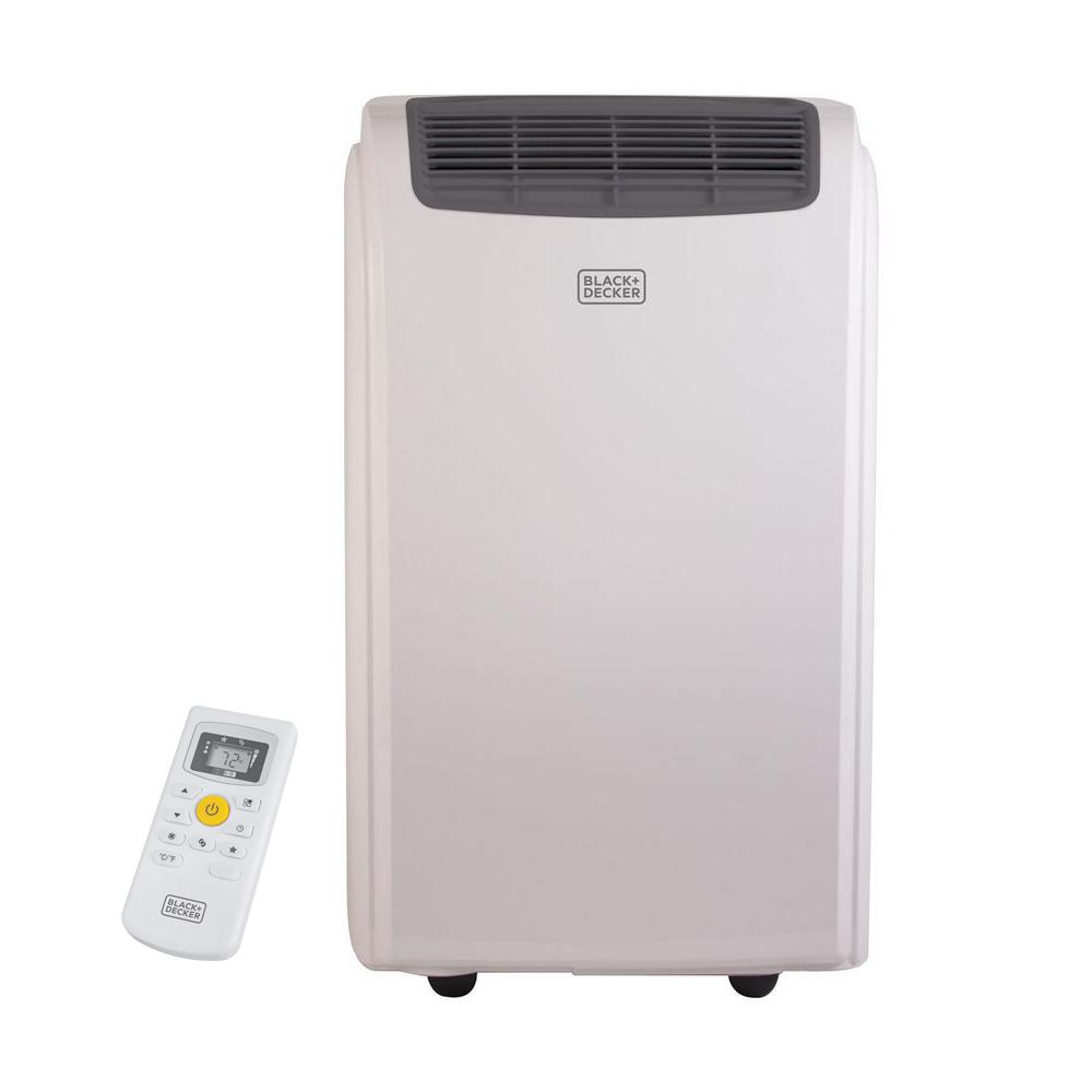 8,000 BTU Portable Air Conditioner in White with Dehumidifier